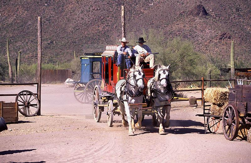 Stagecoach, Old Tuscon Studios