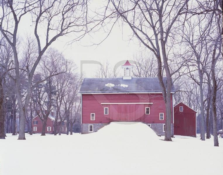 Red English Barn, Tinicum Park