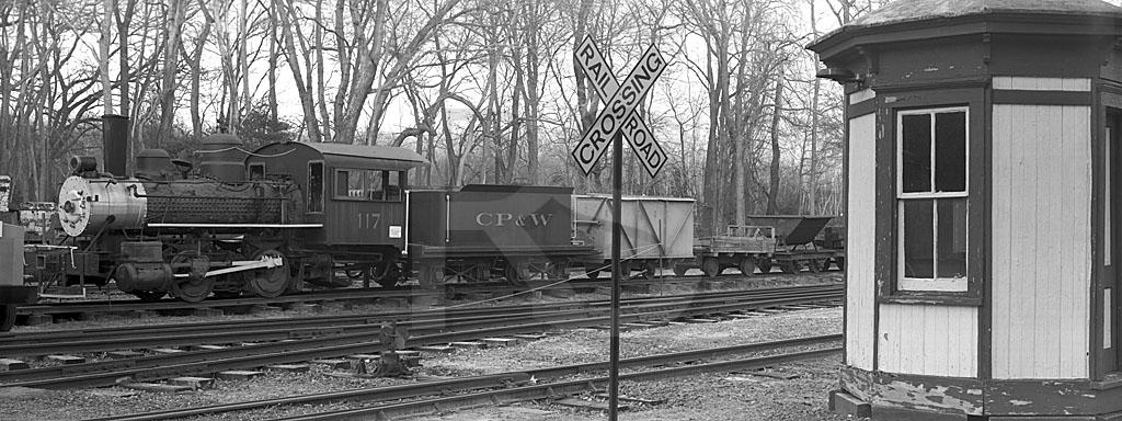 Pine Creek Railroad 1, Black & White