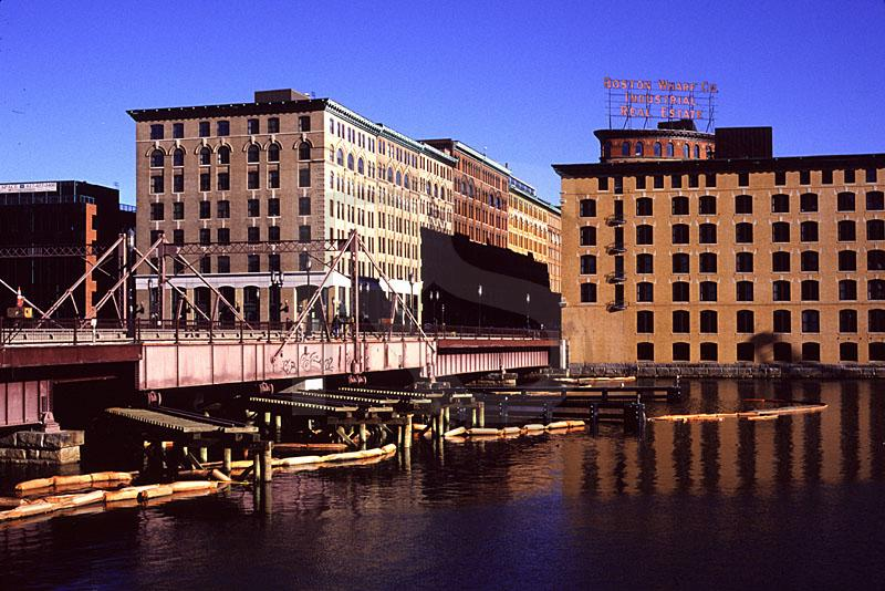 Congress Street Bridge And Fort Point Channel