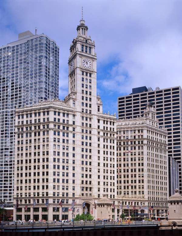 Wrigley Building, Michigan Ave