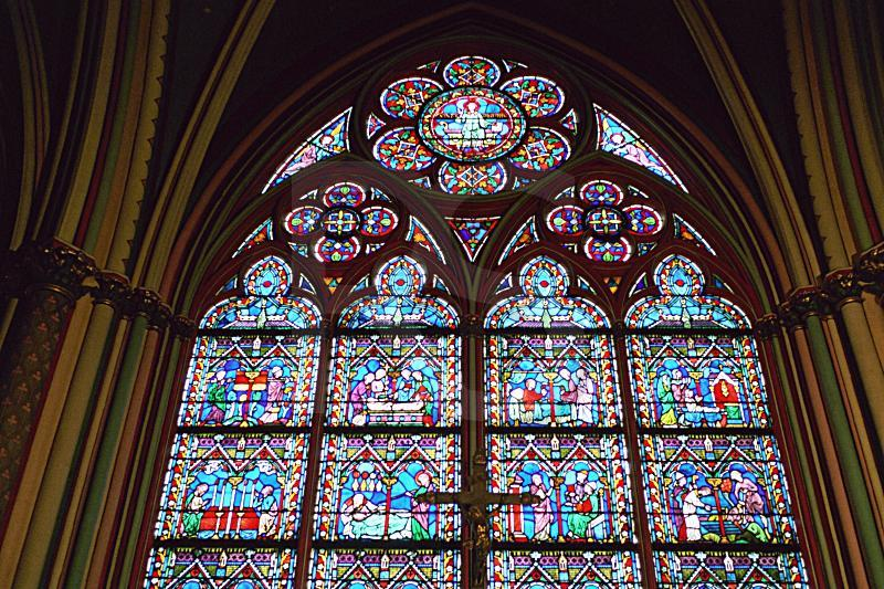 Notre Dame Cathedral, Stained Glass