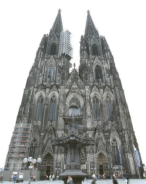 Cologne Cathedral, Exterior