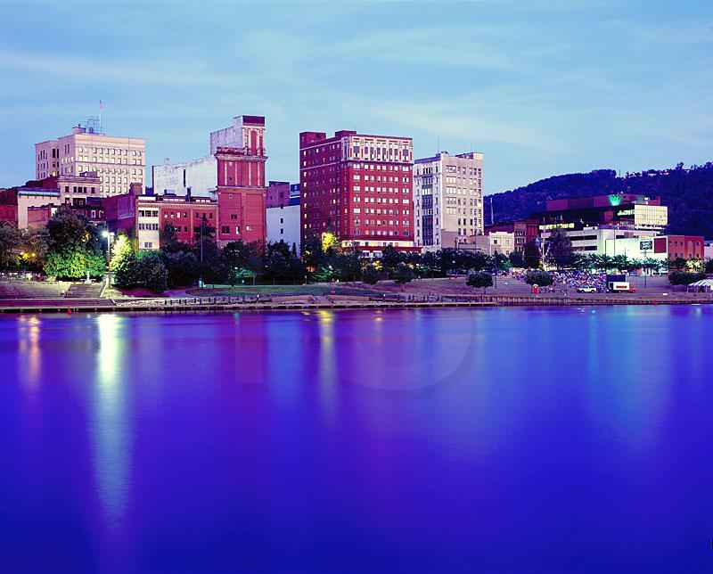 West Virginia Building Ohio City