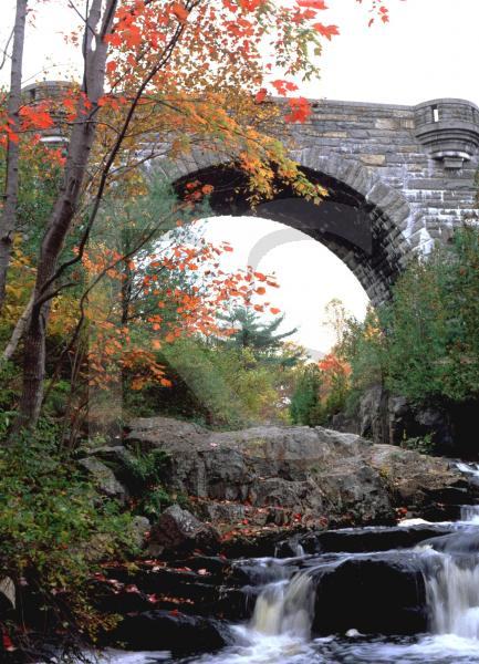Acadia National Park, Duck Brook Bridge