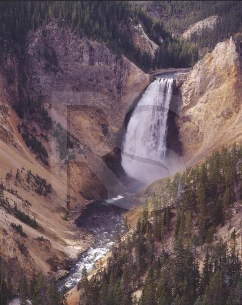 Yellowstone National Park, Yellowstone Falls