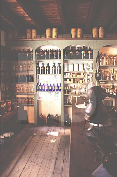 Apothecary Interior, Waterloo Village