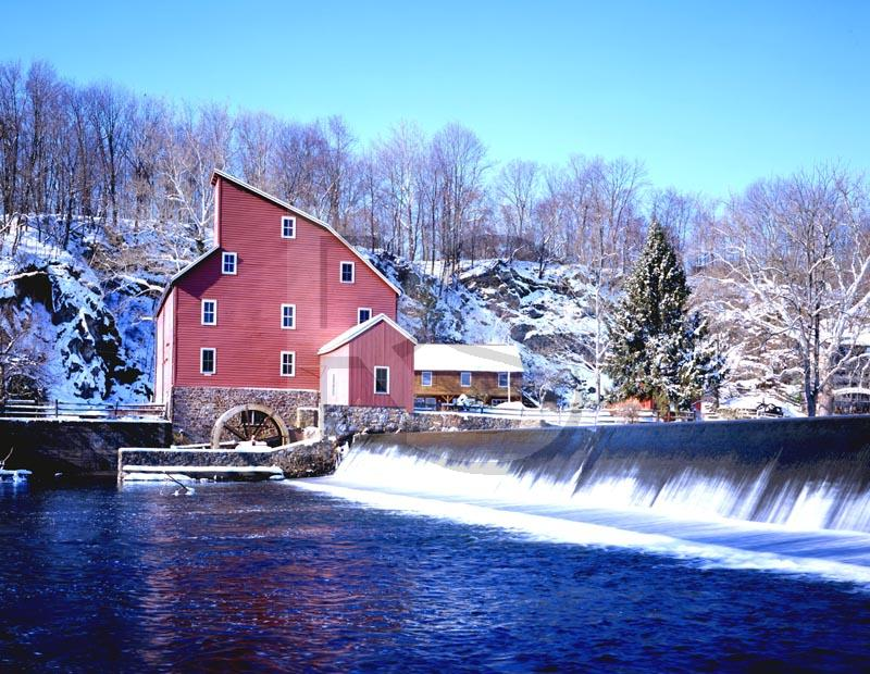 Red Mill, in winter