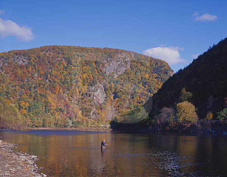 Fishing In The Delware Water Gap