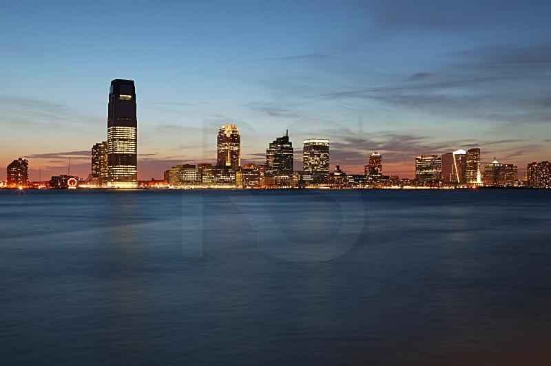 Jersey City Skyline At Dusk 2