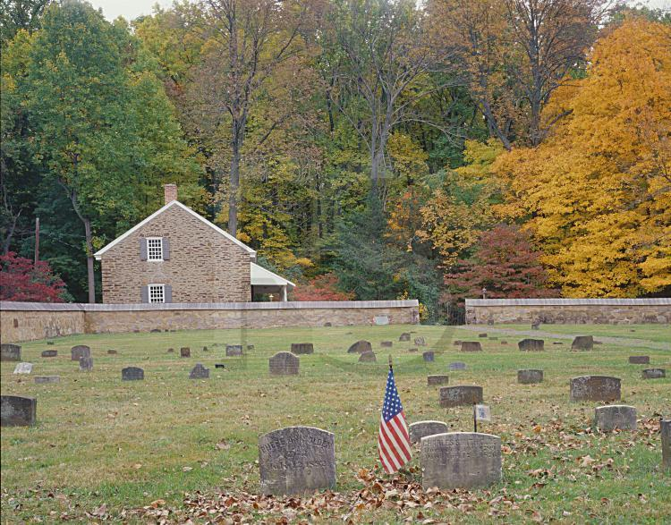 Princeton Friends Meeting House, In Autumn