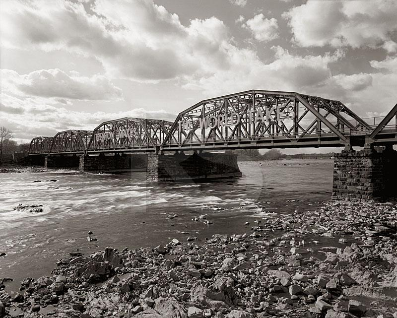 Trenton Makes Bridge, Black & White
