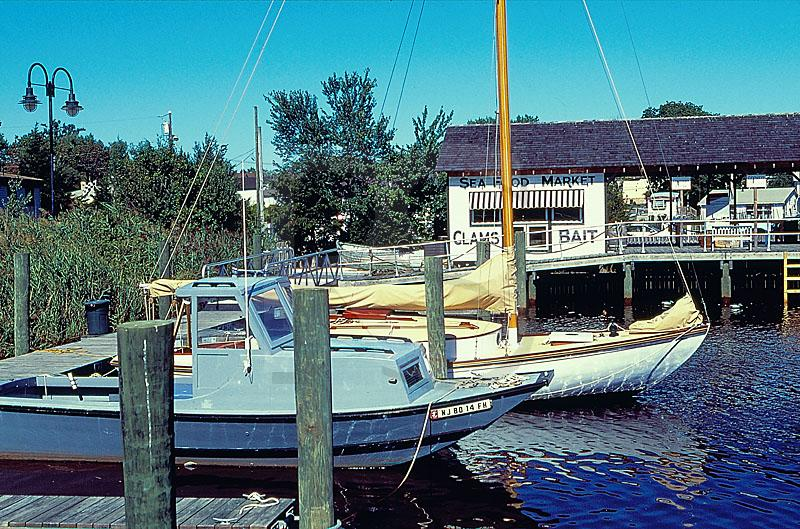 Dock And Seafood Market, Tuckerton Seaport