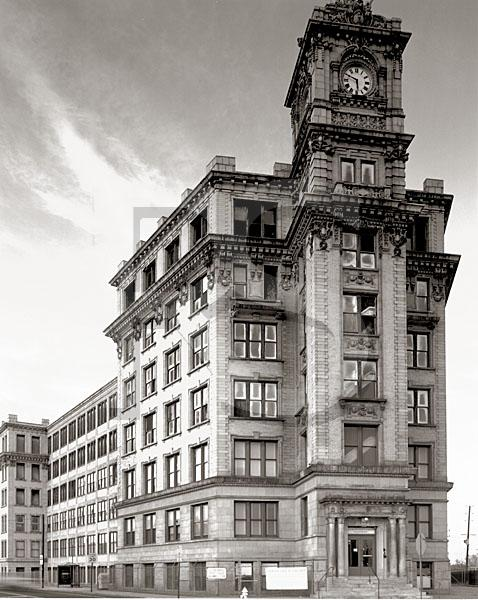 Watchcase Building, Black & White