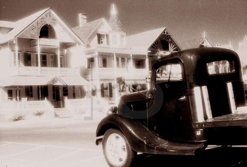 Old Truck, Victorian Homes, Ocean Grove