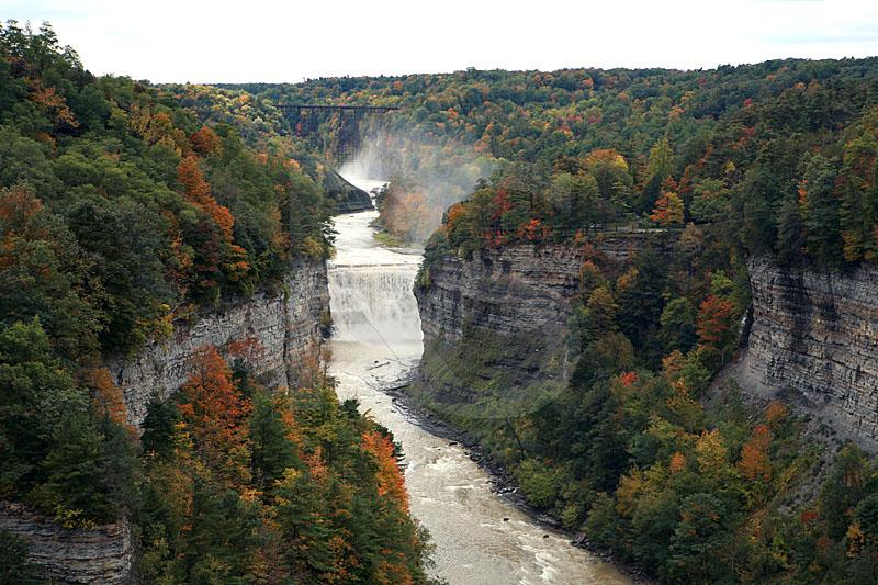 Letchworth State Park, Inspiration Point 1