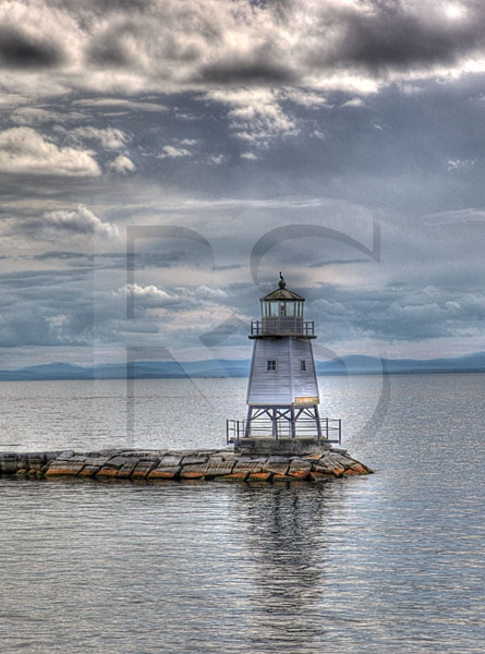 Burlington North Breakwater Lighthouse