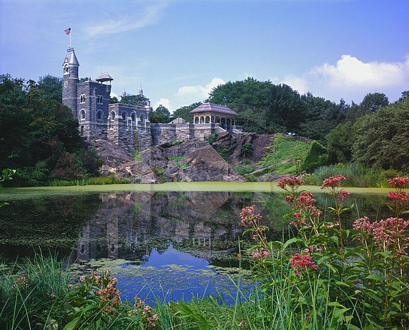 Belvedere Castle and Turtle Pond