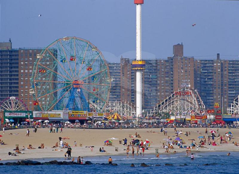 Coney Island, Beach, Boardwalk, and Amusements