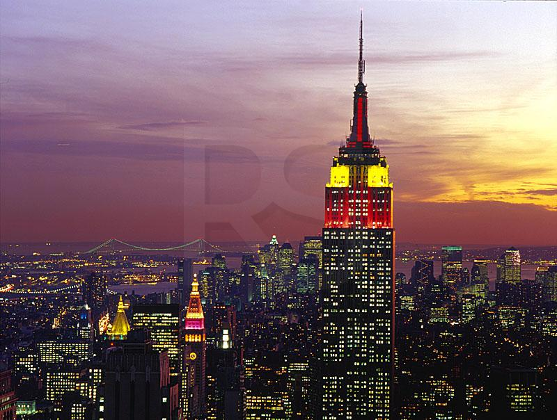 Empire State Building And Manhattan Skyline 1