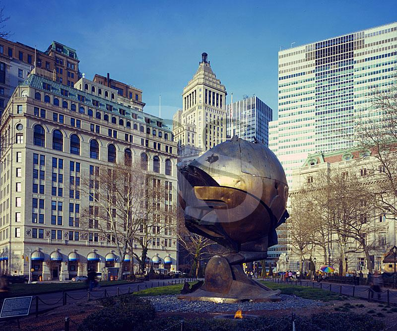 The Sphere Sculpture, Battery Park