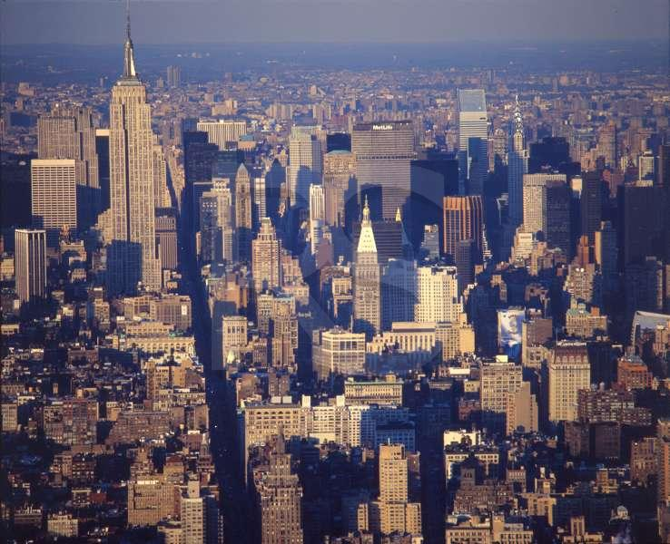Midtown Manhattan, seen from WTC