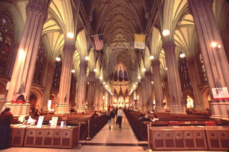 St. Patrick's Cathedral, Interior