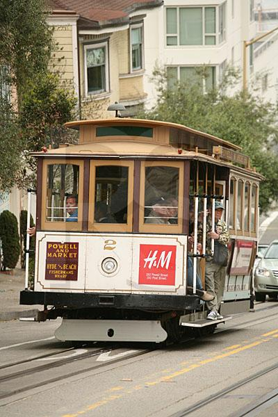 Cable Car 3, Powell-Hyde Line