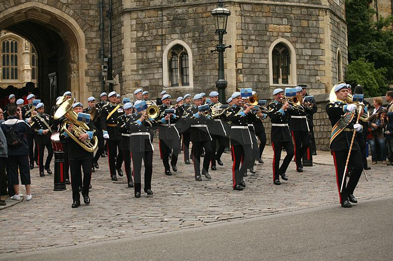 Changing Of The Guard At Windsor Castle 2